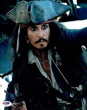 Johnny Depp Signed Pirates of the Caribbean 8x10 Photo (PSA/DNA) #I69683