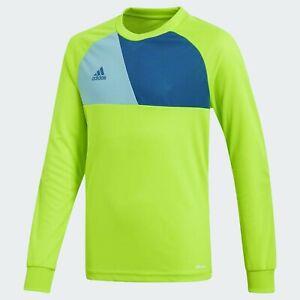 Adidas Boys Goalkeeper Jersey Age 11-12-13-14 Years 🔥 Assita 17 Green Football
