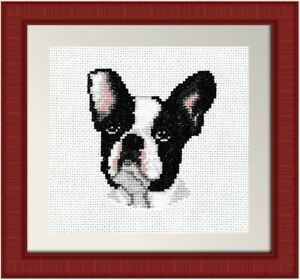 French Bulldog - Dog Cross Stitch Kit