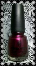 China Glaze *~Don't Make Me Wine~* Nail Polish 2013 Autumn Nights Discontinued!