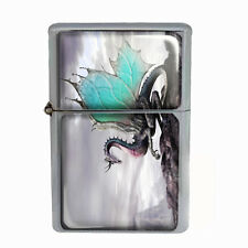 Wind Proof Dual Torch Refillable Lighter Dragon Design-001 Custom Mythology