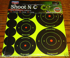 132 SELF ADHESIVE TARGET SPOTS TARGETS RIFLE SHOOTING STICKERS SHOOT N C 1 2 3 ""