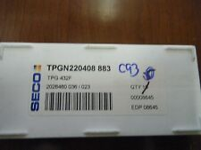 SECO TPGN220408 883 (TPG 432F) INSERTS (PACK OF 10)