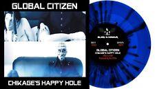 Global Citizen - Chikage's Happy Hole - Gatefold Blue/Black Splatter 7'' Vinyl