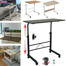 More details for portable adjustable laptop table sofa bed tray computer notebook desk trolley uk
