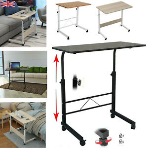 Portable Adjustable Laptop Table Sofa Bed Tray Computer Notebook Desk Trolley UK