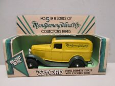 Ertl Montgomery Ward 1932 Ford Delivery Truck Diecast Bank