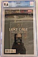 LUKE CAGE#1 CGC 9.6 TIM BRADSTREET HIP HOP VARIANT 2017 MARVEL COMICS