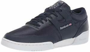 Reebok Mens DV4310 Leather Closed Toe Slip On Shoes