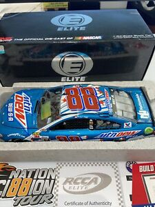 XRare 2017 Autographed Dale Earnhardt Jr. #88 Mountain Dew-S-A 1/24 Elite NIB
