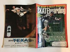 TRANSWORLD SKATEBOARDING SKATEBOARD MAGAZINE AUGUST 1991 CARROLL HOSOI TURNER