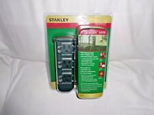 Stanley PlugBank Mini, 3 Outlet Mini Ground Stake with Individual Outlet Covers