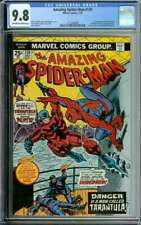 AMAZING SPIDER-MAN #134 CGC 9.8 OW/WH PAGES // 1ST APPEARANCE OF TARANTULA 1974