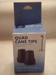 MEDLINE Quad Cane Tips 5/8 --2 tips each box