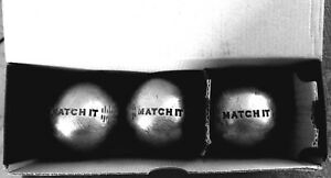 Jeux de 3 boules de compétition Obut match it 680 grammes diamètre 74