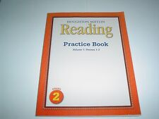 Houghton Mifflin Reading Practice Book Vol. 1 Themes 1-3 Grade 2 Paperback New