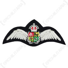 South African Air Force PILOT WINGS Quality SAAF Padded Uniform Patch WW2 Repro