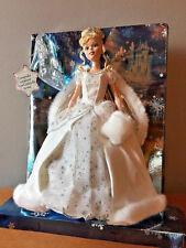 Disney Princess Holiday Princess Cinderella Doll 2005 Limited Edition w/ornament