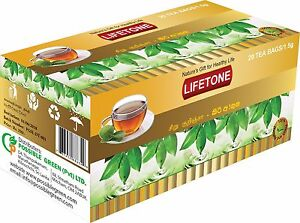 Gymnema Sylvestre Green Tea,Helps control blood Sugar,20 Teabags