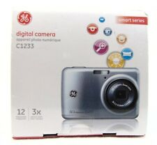 GE C1233 12.4MP Digital Camera - Black