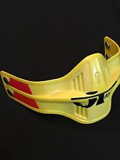 Pacifico face Fender Yellow Mouthguard Honda Yamaha AHRMA