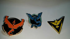 24 Pieces Lot of Pokemon Go Teams Pins. America warehouse experts recommended.