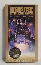 The Empire Strikes Back Special Edition VHS New And Sealed Digitally Mastered