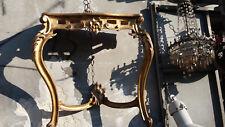 Antica consol dorata  restaurata   . Originale 1890 !!!