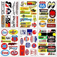 Auto Car Parts NHRA Drag Racing D6095 Lot 6 Vinyl Graphics Stickers Decals Sheet