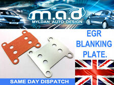 EGR BLANKING PLATE VAUXHALL OPEL 1.9 CDTI ENGINES ASTRA **INCLUDES GASKET**
