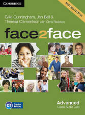 face2face Advanced Class Audio CDs (3) by Jan Bell, Theresa Clementson Second Ed