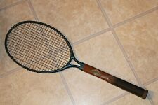 Vintage Tennis Racket Dayton Steel Racquet Co. 1923 Patent Date Combed Handle