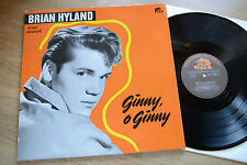 BRIAN HYLAND chante allemand Ginny,O Ginny rare LP Bear (ours) Family Records