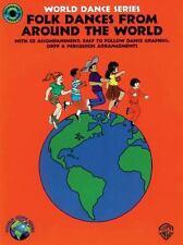 World Dance: Folk Dances Around the World by Fredericka Moore (1994, Paperback)