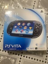Sony PS Vita PCH-1101 Black 3G/Wi-Fi No Memory Card, Power Cord, Box