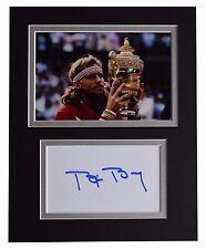 Bjorn Borg Signed Autograph 10x8 photo display Tennis Sport Memorabilia COA
