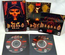 Diablo 2 II Expansion PARTIAL Lot Lord Destruction Strategy Instruction Discs