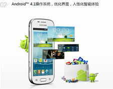 Original Samsung GALAXY Trend Duos 2 II S7572 4.0'' Wifi 3G Dual Sim Android