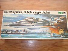 Frog 1/72 Sepecat Jaguar A.2/T.2 Tactical Support Trainer #F402~Sealed Parts-Ob