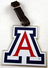 NCAA Golf Bag Heavy Metal LUGGAGE TAG ARIZONA WILDCATS NEW