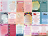 Wallet Purse Mini Keepsake Cards Sentimental Inspirational Message Verse Mini