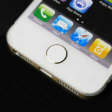 Aluminium Metal Home Button Stickers For Apple iPhone 4 4S 5 5S 6 6 Plus Ipad JP