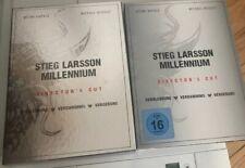 3 DVD Box set  Millennium Trilogie  Stieg Larsson Director's Cut WB