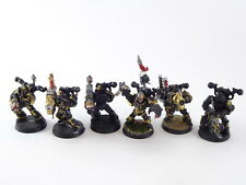 6 x Havocs der Chaos Space Marines / Warhammer 40k - bemalt Metall - 2