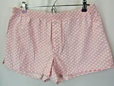 GAP BODY Womens Size M Pink & White Cotton Printed Shorts
