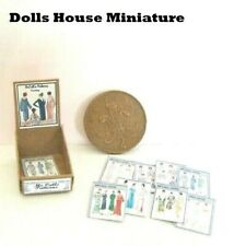 VINTAGE STYLE SHOP COUNTER DISPLAY  sewing  patterns DOLLS HOUSE MINIATURES