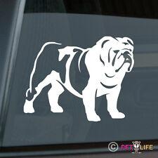 British Bulldog Sticker Die Cut Vinyl - english