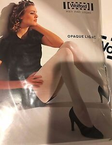 Wolford Opaque Ligne Tights Pantyhose Color: Planet Size: Medium 11687 -12