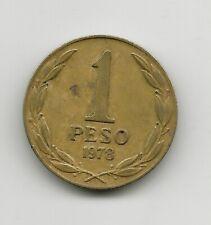 World Coins - Chile 1 Peso 1978 Coin KM# 208a