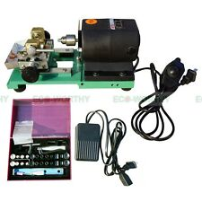 380W Full Set Jewelry Pearl Stepless Drilling Holing Machine Driller Tools 110V